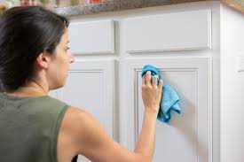 cleaning finished wood kitchen cabinets how to clean painted wood cabinets kitchn