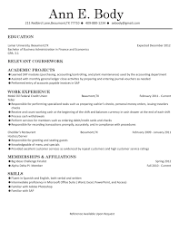 Economics Resume Chronological Example 1 By Lamar University Dept Of Career And