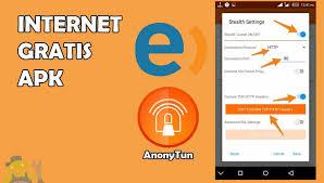 conection port anonytun anonytun apk nueva para tener internet gratis en entel perú