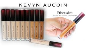 new kevyn aucoin etherialist super natural concealers swatches