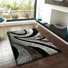Silver Shag Rug Black With Grey Shaggy Area Rug Shaggy Shag Rugs And Vacuums