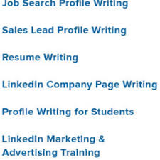 linkedin profile u0026 resume writing services 15 reviews career