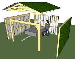 Shed Backyard Building A Backyard Shed