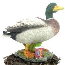 mallard duck resin garden ornament 29 99 garden4less uk shop