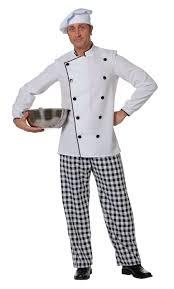 tenue de cuisine homme costume de cuisinier pour homme v19840