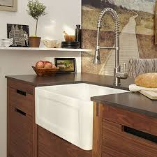 Kitchen Farm Sink Hillside  Inch Wide Apron Kitchen Sink From DXV - Apron kitchen sinks
