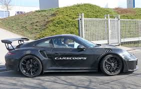 porsche gtr 4 2017 porsche 911 gt3 rs gets bigger 4 2l flat six may get a