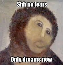 Monkey Jesus Meme - jesus fresco meme 28 images best of the ecce homo botch fresco