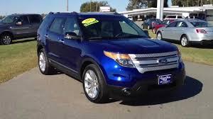 Ford Explorer 2014 - ford explorer 2014 blue wallpaper 1280x720 10242
