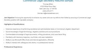 Legal Assistant Resume Examples by Legal Resume Format