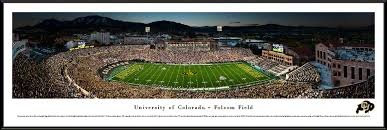 Colorado travel fan images Colorado buffaloes football panoramic picture folsom field jpg