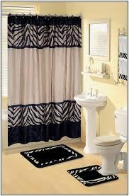 zebra bathroom ideas brown zebra bathroom set best 25 zebra print bathroom ideas on