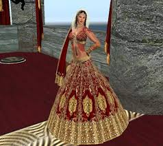 hindu wedding attire a this is a hindu wedding dress b this dress represents a part