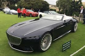 luxury mercedes maybach electric mercedes maybach 6 cabriolet concept car revealed autocar