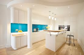 Blue Glass Kitchen Backsplash Kitchen Backsplash Ideas A Splattering Of The Most Popular Colors