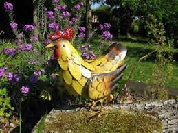 chicken garden ornaments ebay