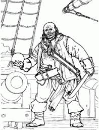 pirate big boat pirates coloring pages kids print u0026 color