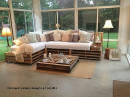 construire canapé d angle fabriquer canape d angle en palette petit meuble en palette tagre en