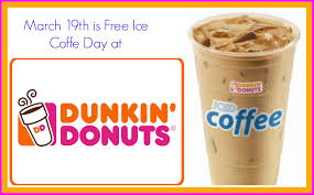 Coffee Dunkin Donut dunkin donuts welcomes with free iced coffee conservamom