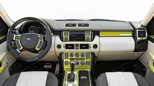land rover yellow land rover range rover sport 2006 2009 basic interior dash kit