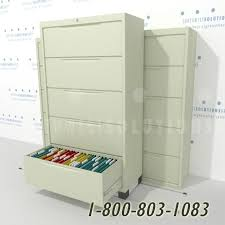 Lateral File Cabinet With Storage Sliding Lateral File Cabinet System Movable Cabinets Reduce