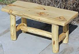 shipping a table across country rustic log bench cabin lodge country log furniture free