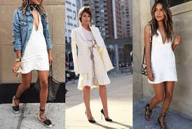 which shoes to wear with a white dress onehowto
