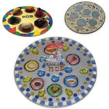 buy seder plate medium wooden seder plate for decorating buy at the
