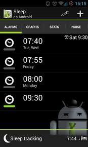 android alarm clock sleep as android the smart alarm clock that analyzes your sleep