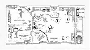 Floor Plan Of A Bakery by 221b Baker Street