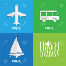 traveling agency images Set of vector illustration logos for travel agency concept jpg
