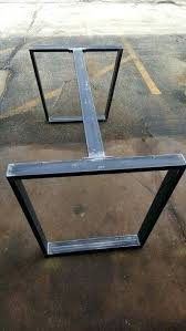 Chairs With Metal Legs Wood Dining Table With Black Metal Legs Nz Etsy Square Melbourne