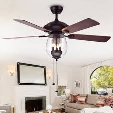 bedroom ceiling fans warehouse of tiffany tibwald wood glass 52 inch 5 blade lighted