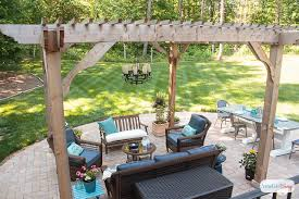 Decorating Pergolas Ideas Patio Decorating Ideas Our New Outdoor Room Atta Says