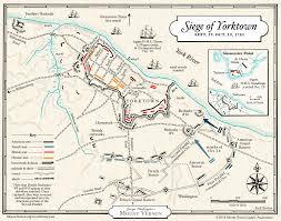 Map Of Williamsburg Virginia by Yorktown Campaign George Washington U0027s Mount Vernon