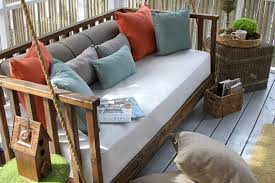 how to make your porch swing the most comfortable spot ever