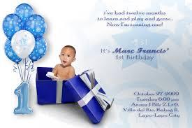 Baptism Invitation Cards Free 1st Year Birthday Invitation Cards Free Iidaemilia Com