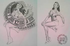 pin up design creating concepts