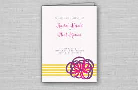 modern wedding programs sophisticated wedding programs from moment