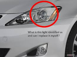 2007 lexus is 250 need help identifying light bulb and can i diy
