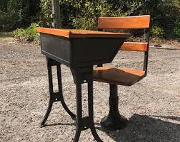 Small School Desk Vintage School Desk Etsy