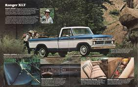 Ford Ranger Truck Seats - 1977 pickup ford truck sales brochure