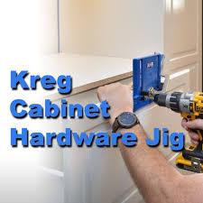 kreg cabinet hardware jig installing knobs and pulls with the kreg cabinet hardware jig wish
