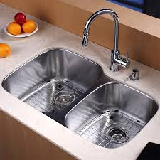 kitchen design ideas kraus double bowl kitchen sink stainless
