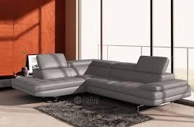 canapé cuir gris clair canapé d angle en cuir italien 6 places birkin gris clair