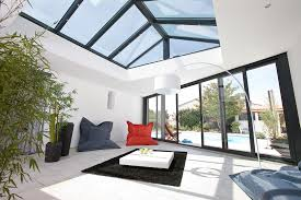 vitrage toiture veranda améliorer sa véranda isolation lumière concept alu