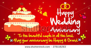 Wedding Wishes Ringtone Happy Wedding Anniversary Stock Images Royalty Free Images