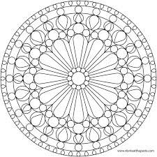 stained glass pictures color free coloring pages art