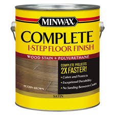 complete home interiors minwax 1 gal complete 1 step stain and polyurethane floor finish