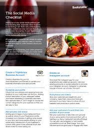 cuisine compl e uip how to create an presence for your restaurant bookatable